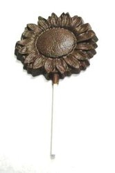 Chocolate Sunflower Large on a Stick