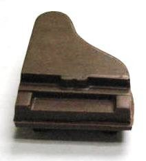 Chocolate Piano 3D Small 2 Piece
