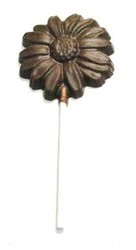Chocolate Daisy Large Round on a Stick