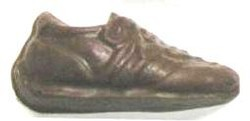 Chocolate Tennis Shoe Small