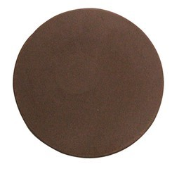 Chocolate Circle Plain Large Thin - Click Image to Close
