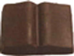 Chocolate Book Large Open