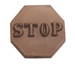 Chocolate Stop Sign