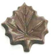 Chocolate Maple Leaf Large