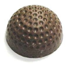 Chocolate Golf Ball XLG Half