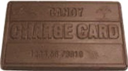 Chocolate Candy Charge Card