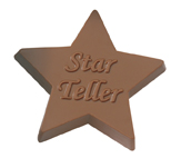 1 oz. Custom Chocolate Star Award