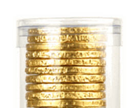 10-pc Chocolate Coin Tube