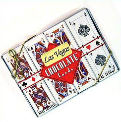 16-pc Chocolate Playing Card Box