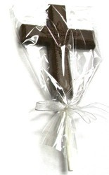 Chocolate Cross Large on a Stick