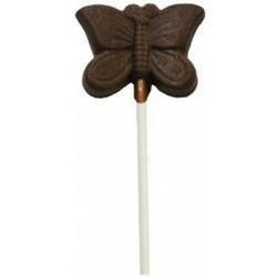 Chocolate Butterfly on a Stick