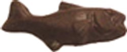 Chocolate Fish Open Mouth