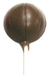 Chocolate Basketball on a Stick