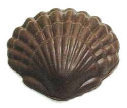 Chocolate Clam Shell w/Ripples XLG