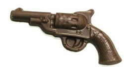 Chocolate Revolver Gun - Click Image to Close