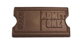 Chocolate Ticket Admit One