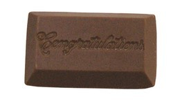 Chocolate Congratulations Rectangle Small