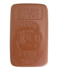 Chocolate Gold Brick Large - Click Image to Close