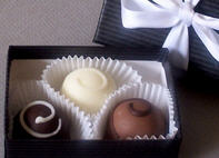 3-pc Custom Truffle Box