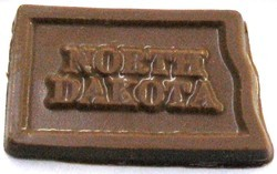 Chocolate State North Dakota - Click Image to Close