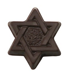 Chocolate Star of David