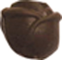 Chocolate Rose Small 3D - Click Image to Close