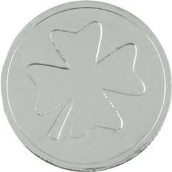 Four Leaf Clover Chocolate Coin