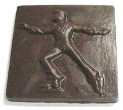 Chocolate Figure Skater Male XL Square