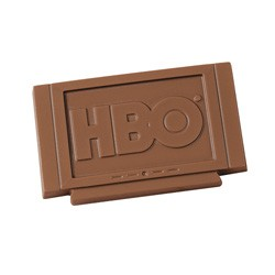 1 oz Custom Chocolate Television or TV