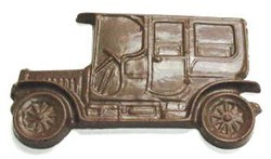 Chocolate Car Antique Rectangular