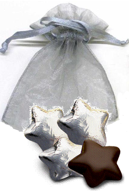 5-pc Star Organza Bag