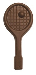 Chocolate Tennis Racquet w/Ball XL