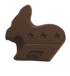 Chocolate Democratic Party Donkey Small