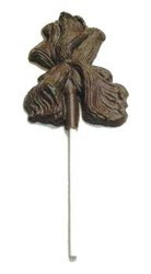 Chocolate Iris on a Stick Medium