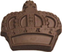 Chocolate Crown Large - Click Image to Close