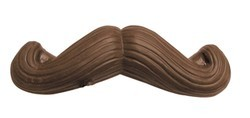 Chocolate Moustache Curved Ends
