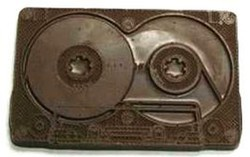 Chocolate Cassette Tape