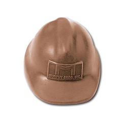 3.5 oz. Custom Chocolate Safety Hard Hat
