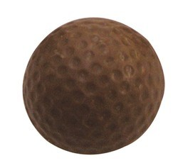Chocolate Golf Ball 3D Actual Size