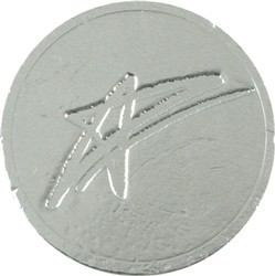 Star Chocolate Coin
