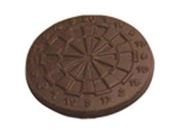 Chocolate Dart Board