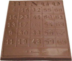 Chocolate Bingo Card