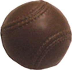Chocolate Baseball Actual Size