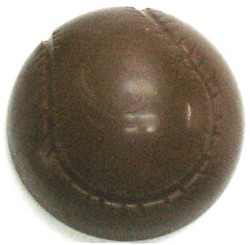 Chocolate Baseball Half Large