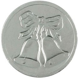 Wedding Bells Chocolate Coin