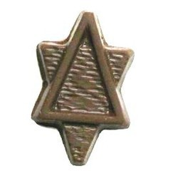 Chocolate Star of David Tall