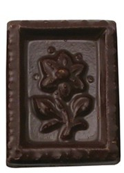 Chocolate Stamp Flower