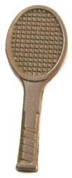 Chocolate Tennis Racquet Small