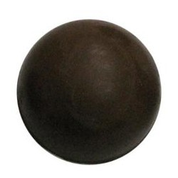 Chocolate Pool Table Ball Half