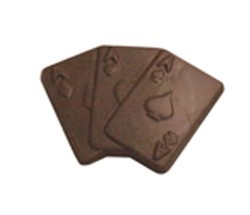 Chocolate Playing Cards 3 Aces